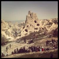 3/21/2013 tarihinde Mustafa G.ziyaretçi tarafından Göreme Açık Hava Müzesi'de çekilen fotoğraf