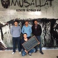 12/20/2017 tarihinde Mehmed 👑 D.ziyaretçi tarafından Musallat Konya Korku Evi'de çekilen fotoğraf