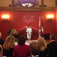 Photo taken at Latvijas Republikas Saeima  |  Saeima of the Republic of Latvia by Edvards S. on 5/4/2014
