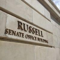 Photo taken at Russell Senate Building by Matt R. on 4/16/2013