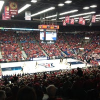 Photo taken at McKale Center by Matt R. on 1/4/2013