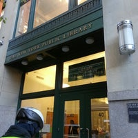 Photo taken at New York Public Library - Andrew Heiskell Braille & Talking Book Library by William C. on 11/20/2013