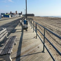 Photo taken at Asbury Park Beach by William C. on 4/14/2013