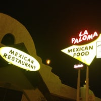 Photo taken at La Paloma by James G. on 3/1/2013