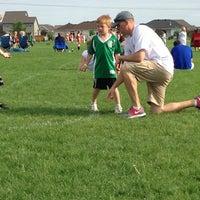 Photo taken at Kennedy Soccer Fields by Scott S. on 6/11/2013