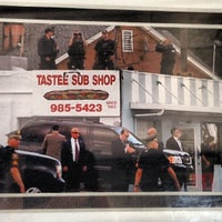 Photo taken at Tastee Sub Shop by Dan S. on 3/5/2013