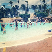 Photo taken at Pool Iberostar Punta Cana & Dominicana by Michelle Wendy on 3/24/2013