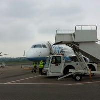 Photo taken at Southampton Airport (SOU) by Christiaan H. on 5/21/2013