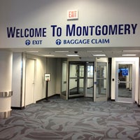 Photo taken at Montgomery Regional Airport (MGM) by Chris G. on 2/13/2013