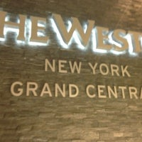 Photo taken at The Westin New York Grand Central by Ruaridh G. on 11/22/2012