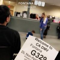 Photo taken at Fontana DMV by Meyaooo on 1/23/2018