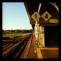 Photo taken at Oiwake Station by minemew on 10/7/2012