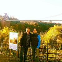 Photo taken at Large Swing Bridge by Pedro M. on 11/10/2012