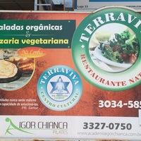 Photo taken at TerraViva Restaurante Natural by Weber Q. on 10/14/2014
