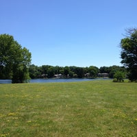 Photo taken at Washington Township Lake by Will T. on 7/6/2014