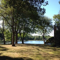 Photo taken at Washington Township Lake by Will T. on 8/28/2015