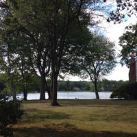 Photo taken at Washington Township Lake by Will T. on 8/26/2015