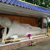 Photo taken at Wat Buddha Thai Thavorn Vanaram by Scott W. on 5/25/2013
