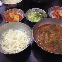 Photo taken at 문배동육칼 by mucat on 11/7/2014