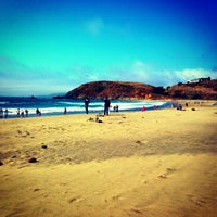 Photo taken at Pacifica State Beach by Rajon T. on 7/22/2013