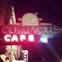 Photo taken at Columbus Cafe by Rajon T. on 10/15/2012