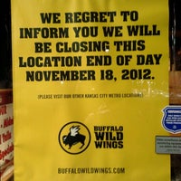 Photo taken at Buffalo Wild Wings by Raven S. on 11/19/2012