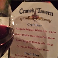 Photo taken at Crane's Tavern by Kelly B. on 2/28/2014