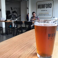 Photo taken at Mumford Brewing by Thirsty J. on 10/18/2015