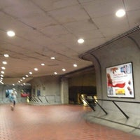 Photo taken at Cleveland Park Metro Station by William l. on 10/7/2012