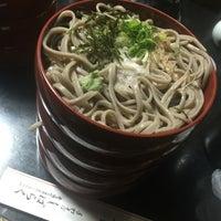 Photo taken at そば処 志ばらく by Kenta Y. on 5/18/2016
