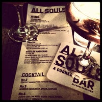 Photo taken at All Souls Bar by Albert S. on 3/20/2014