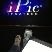 Photo taken at iPic Theaters by Samantha S. on 2/19/2013