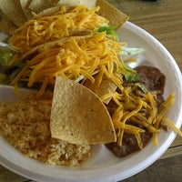 Photo taken at Tom's Tacos by Dennis L. on 9/25/2012
