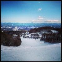 Photo taken at あだたら高原スキー場 by yuki.i on 1/27/2013