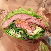 Photo taken at Bareburger by perke p. on 1/21/2013