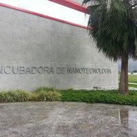 Photo taken at Parque de Investigación e Innovación Tecnológica (PIIT) by Luis Fernando F. on 11/20/2013