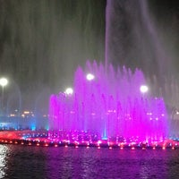 Photo taken at King Abdullah Park by Omar A. on 10/10/2013
