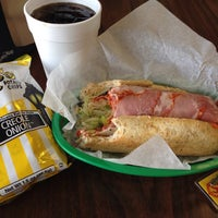 Photo taken at Tucci's Southside Subs by Michael D. on 4/18/2014