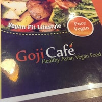 Photo taken at Goji Cafe by Lukas K. on 3/21/2014