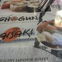 Photo taken at Shogun Japanese Buffet Restaurant by Livi N. on 10/1/2012