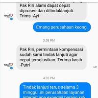 Photo taken at Internet patah hati by riri I. on 1/14/2017