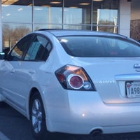 Photo taken at Hamilton Nissan by Tammy M. on 2/25/2014