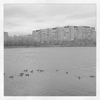 Photo taken at Мещерское озеро by Yuriy K. on 10/28/2012