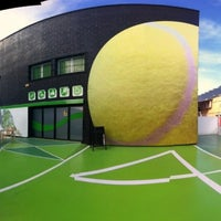 Photo taken at PADEL4 CARTAGENA by Roberto G. on 2/19/2013