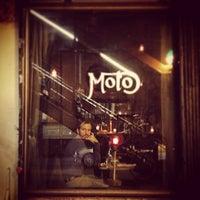 Photo taken at Moto by Simone D. on 10/13/2014