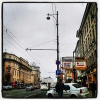 Снимок сделан в Тверская улица пользователем Максим А. 11/19/2012