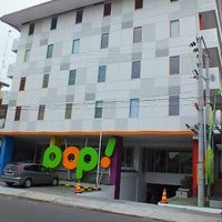 Photo taken at Pop Hotel Gandekan by Restya H. on 9/19/2015