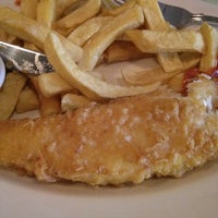 Photo taken at Poppies Fish & Chips by That girl ray on 7/13/2013