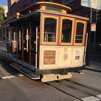 Photo taken at Hyde Street Cable Car by Lisa on 4/24/2013