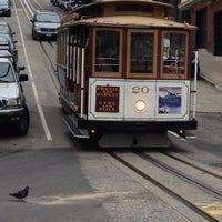 Photo taken at Hyde Street Cable Car by Lisa on 7/19/2013